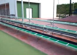 Solude Gradas en Pista polideportiva Alhaurin de la Torre